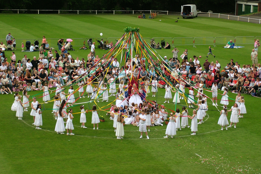 Image result for english may pole day images