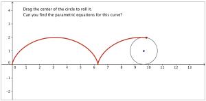 Three applets illustrating parametric curves – David