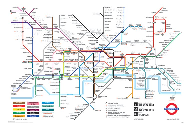 Subway Map Graph.Topological Maps Or Topographic Maps David Richeson Division By Zero